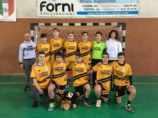 Leoni Pallamano Tortona, formazione under 15