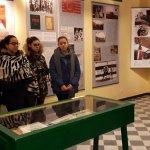 L'Istituto Marconi-Carbone in visita alla mostra su Ernesto Cabruna a Tortona