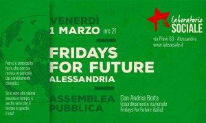 Nasce Fridays for Future Alessandria e subito prepara la mobilitazione del prossimo 15 marzo