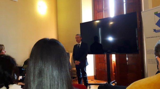 Guido Rosso, dirigente scolastico dell'Istituto Marconi, a Firenze