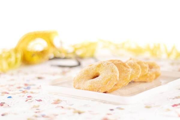 Le frittelle di mele realizzate con la ricetta di Lisa Corsoni