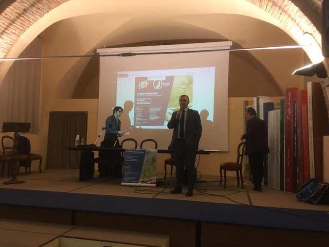 Massimo Berutti introduce il convegno la nuova agricoltura