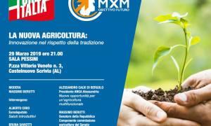 Un convegno sull'agricoltura a Castelnuovo Scrivia