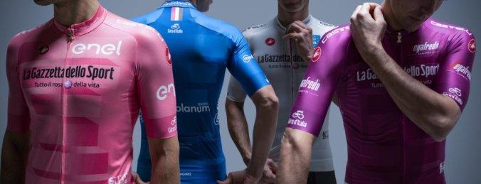 Le maglie del Giro 102
