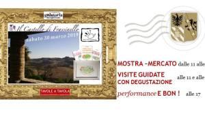 Sabato 30 marzo il Castello di Frassinello si anima con Tavole a Tavola
