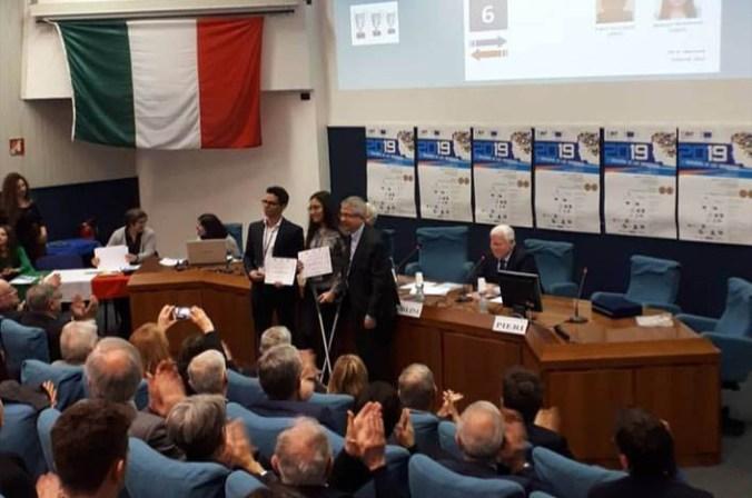 """Premiazione del concorso """"I giovani e le scienze 2019"""""""