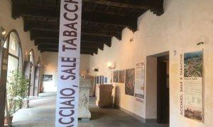 """Prorogata di due settimane l'apertura della mostra """"Acciao, sale e tabacchi"""" a Palazzo Guidobono"""
