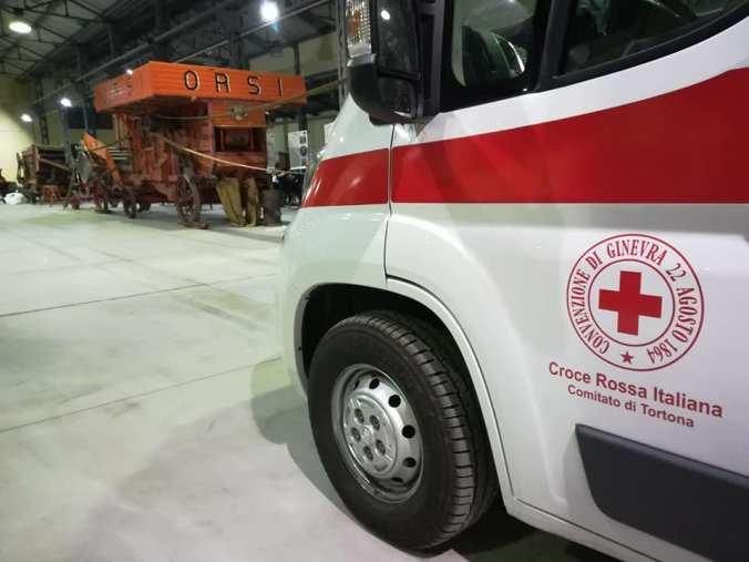 Inaugurazione mezzi di soccorso croce rossa