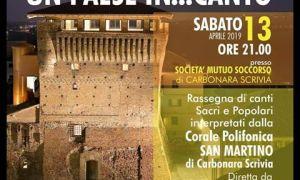 "Carbonara Scrivia presenta ""Un paese in… canto"""