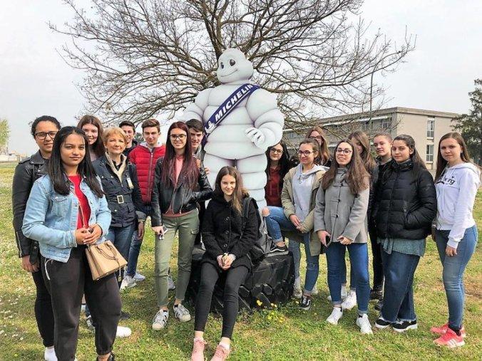 L'istituto Marconi di Tortona in visita allo stabilimento Michelin di Alessandria