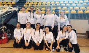 Le ragazze dell'Istituto Marconi terze sul podio delle Olimpiadi di Danza