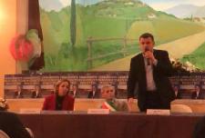 Silvia Figini, Ernesto Vegezzi e Gian Marco Centinaio a Casalnoceto