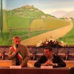 Il ministro dell'agricoltura e del turismo Centinaio è stato a Casalnoceto
