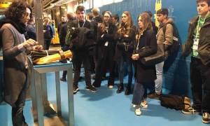I ragazzi del Liceo Peano sono stati in visita al Cern di Ginevra