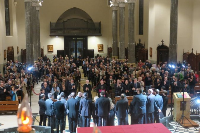 Il coro della Cappella Marciana applaudita a Tortona
