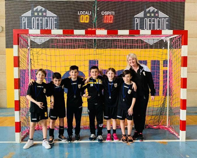 Leoni Pallamano Tortona, formazione under 11 a Cologna