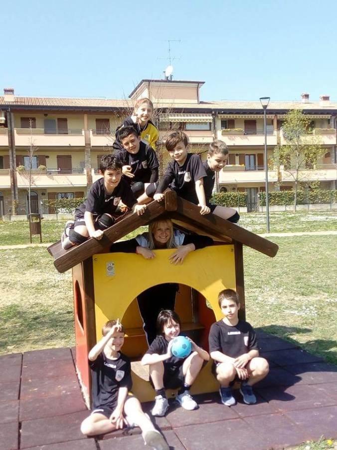Leoni Pallamano Tortona under 11 a Palazzolo