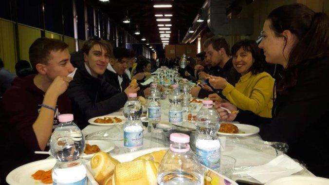 Il pranzo sociale al 26° convegno interregionale della Stampa studentesca