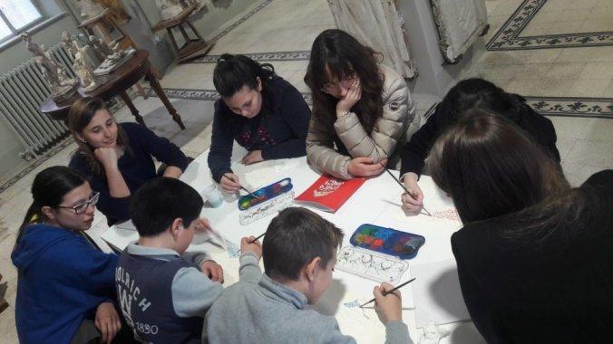 Liceo Peano alla Pinacoteca il divisionismo