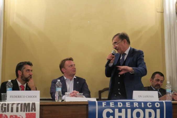 La Russa a Tortona per Fratelli d'Italia