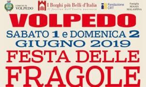Programma della Festa delle Fragole 2019 a Volpedo