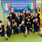 Leoni Pallamano Tortona – Anche gli Under 9 al concentramento organizzato dalla Società Chiavazzese a Valdengo (BI)