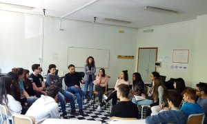 "Si è concluso all'Istituto Marconi l'interessante laboratorio ""mind the gap"""