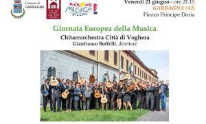 Chitarrorchestra Città di Voghera in concerto a Garbagna