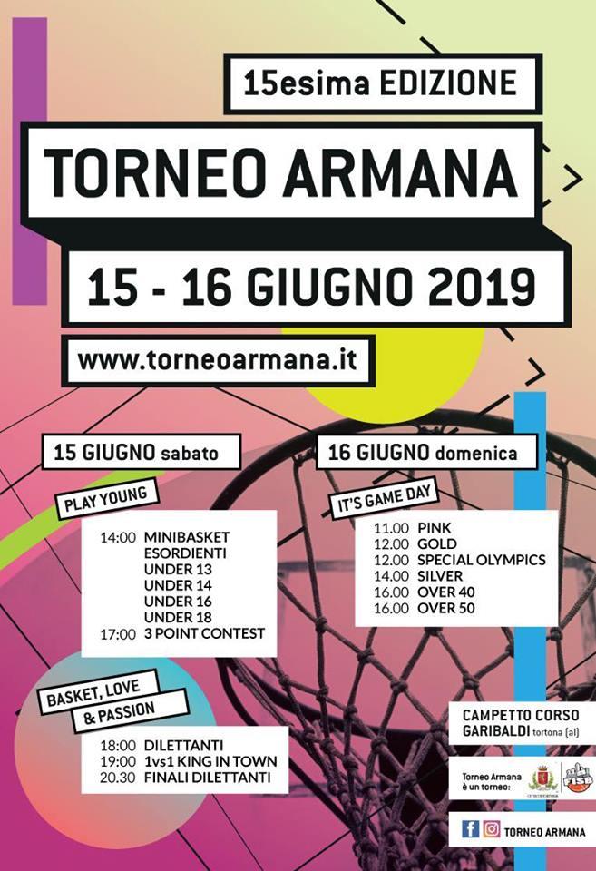 Programma Torneo Armana 2019