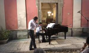 Il duo Cadossi-Volpi incanta San Sebastiano Curone con gli incompiuti di Mozart