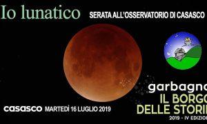 """""""Io lunatico"""", martedì """"il borgo delle storie"""" sarà a Casasco per l'eclisse di Luna"""