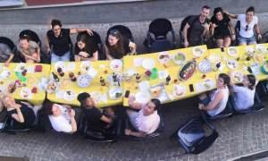 La Vi-cena di casa in via Calderai a Tortona