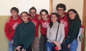 """Quattro giovani del Liceo Peano a Torino per la """"disputa classica"""""""