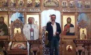 Il sindaco Chiodi ha visitato la Chiesa Ortodossa di Tortona