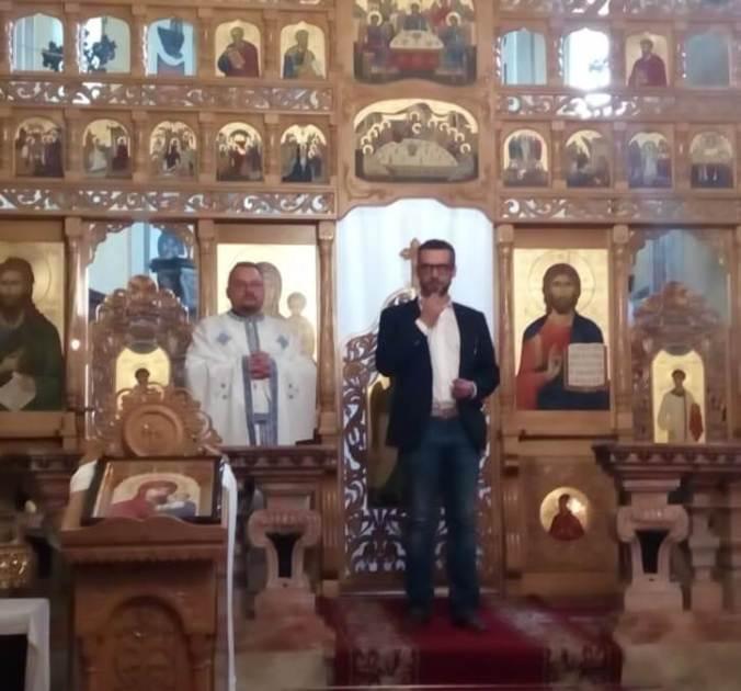 Federico Chiodi e Padre Catalin Aftodor