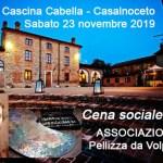 Cena sociale del Pellizza – Menù a tema
