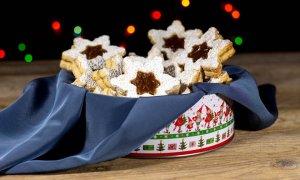 Ricetta – Biscotti alla nocciola con confettura di marroni