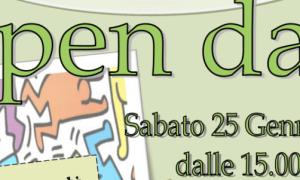 È sabato 25 gennaio al pomeriggio l'Open Day al Liceo Peano