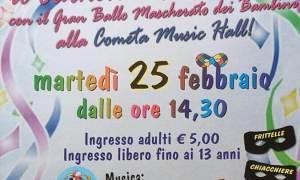 A Sale torna la Festa in Maschera di Carnevale