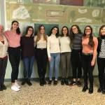 La squadra di Tedesco del Liceo Peano alle olimpiadi di Dresda