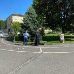 Il centro Mater Dei di Tortona ha riaperto le visite ai parenti alla presenza del Vescovo