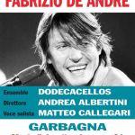 Garbagna apre settembre con l'omaggio a De Andrè, martedì sera in piazza Doria