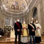Don Luca Ghiacci lascia Tortona, anche il sindaco Chiodi in rappresentanza della città alla messa di congedo