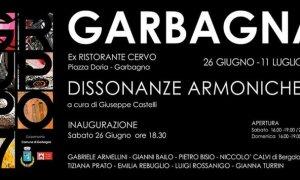 """A Garbagna torna il Gruppo 7 con la mostra """"Dissonanze Armoniche"""" – La mostra, visitabile fino all'11 luglio sarà inaugurata sabato prossimo"""