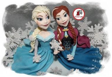 Tort Frozen_Elsa si Anna 3