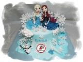 Tort Frozen_Elsa si Anna