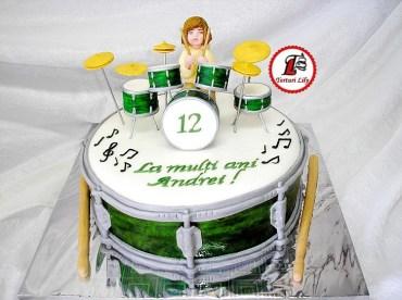 Tort Tobe_Drum Cake 1