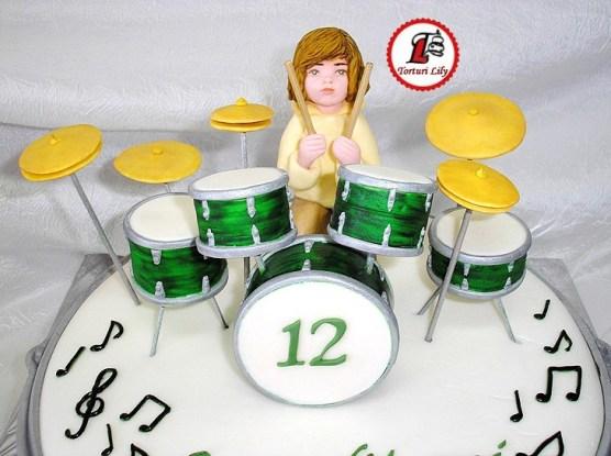 Tort Tobe_Drum Cake 6