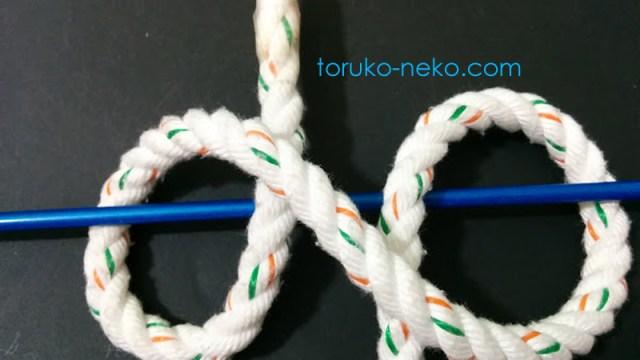 まきむすび 巻き結び 巻結び クローブ・ヒッチ Clove hitch ロープワーク