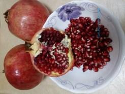 ザクロ 実 果実 種 幾つ 何個
